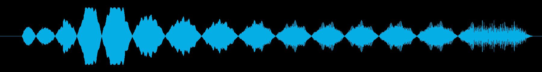 FX アクセス拒否01の再生済みの波形