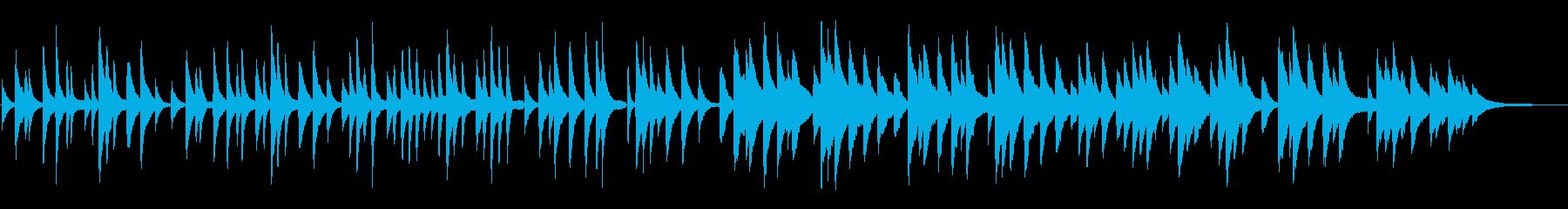 クリスマス「もみの木」ピアノソロの再生済みの波形