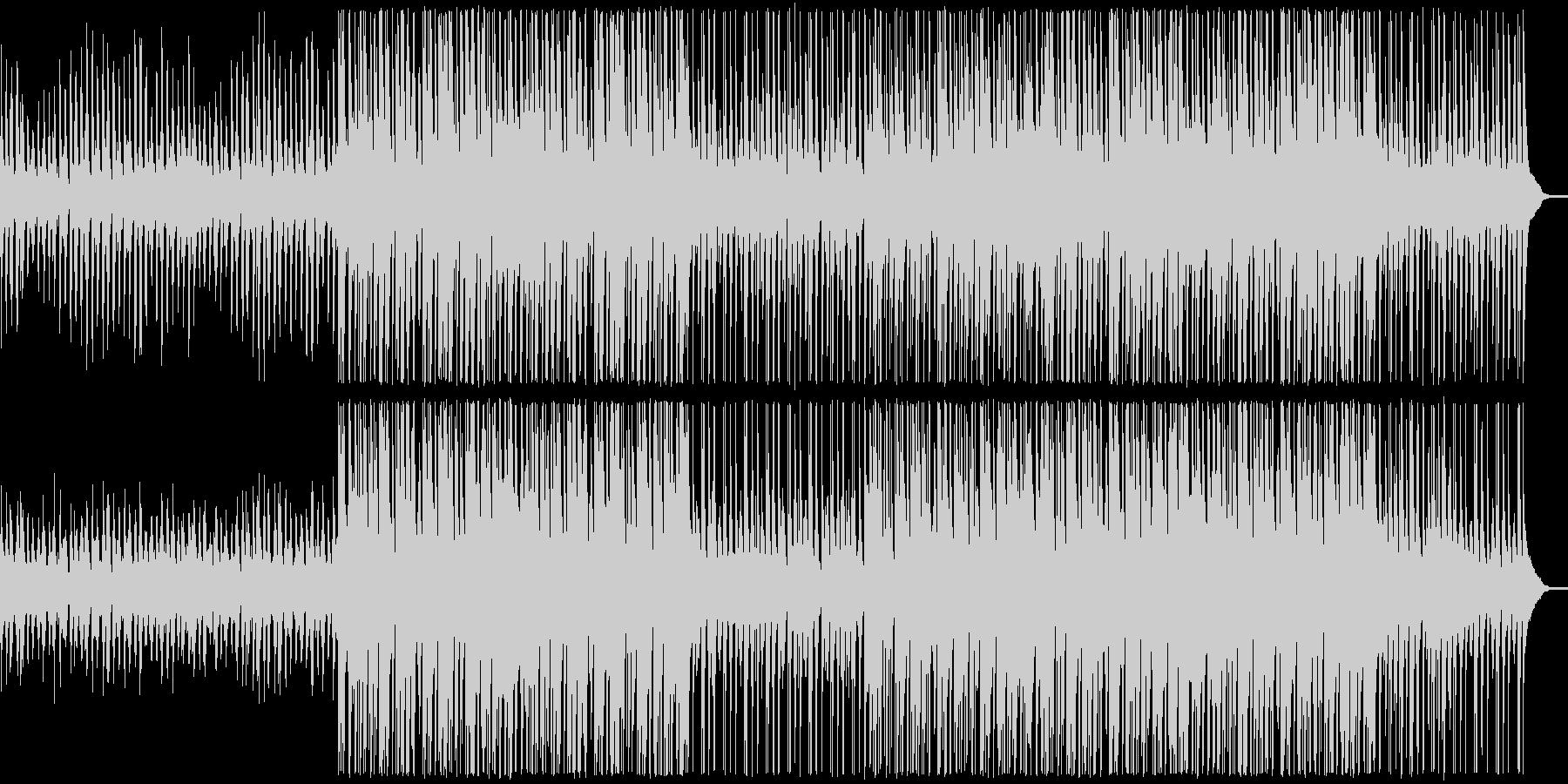 【ベース抜き】明るく軽快なアンサンブルの未再生の波形