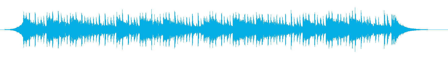 インタビューの背景(40秒)の再生済みの波形