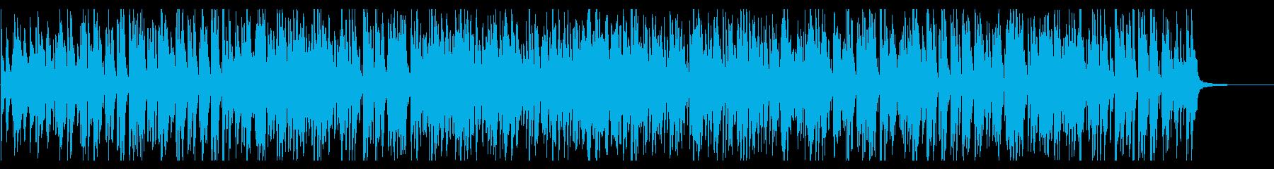 ファンキーでカッコいいジャズの再生済みの波形