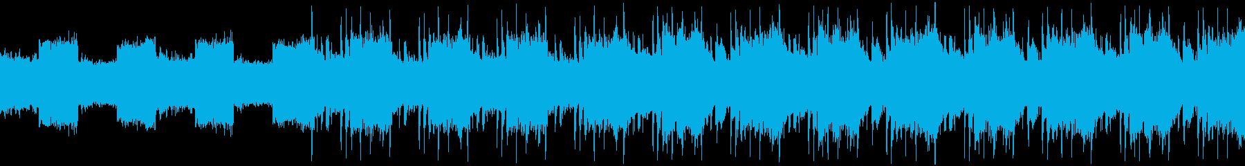 まさにバトルのイメージのEDMですの再生済みの波形