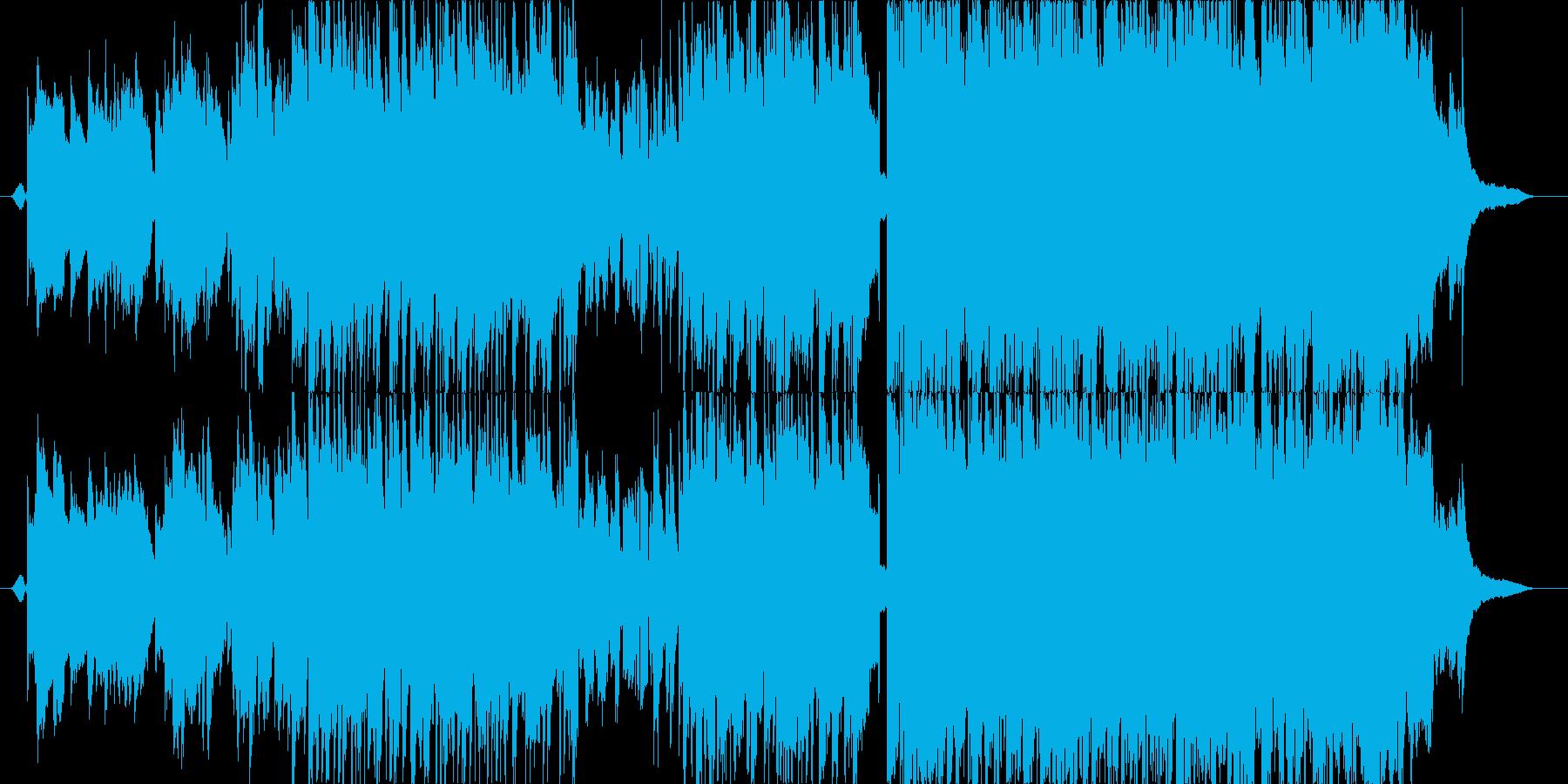 柔らかで歌声の優しいピアノポップスの再生済みの波形
