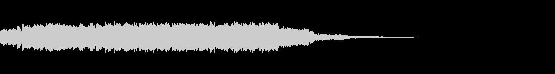 ポヨポヨポヨポヨ【電子的な水音】の未再生の波形
