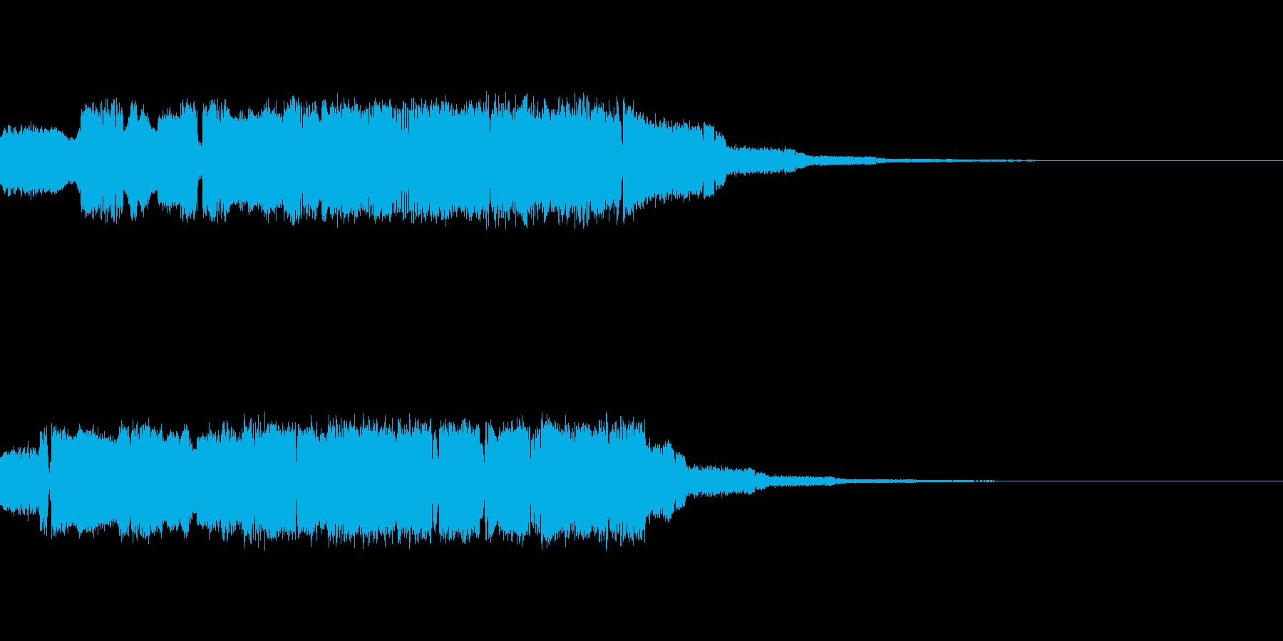 ポヨポヨポヨポヨ【電子的な水音】の再生済みの波形