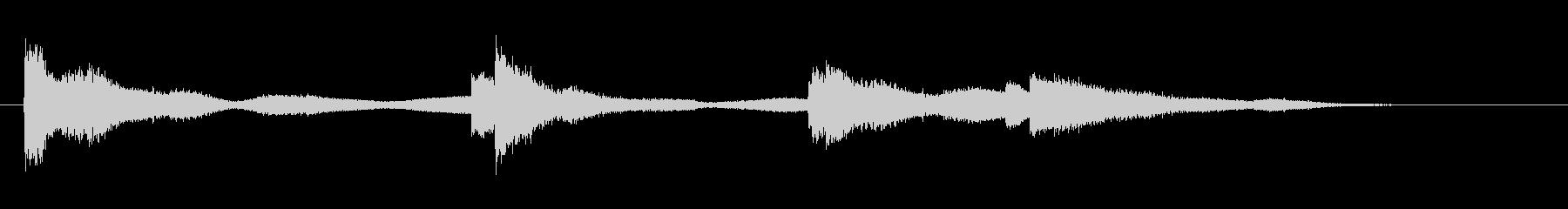 セメントのパイプSml銅ドロップの未再生の波形
