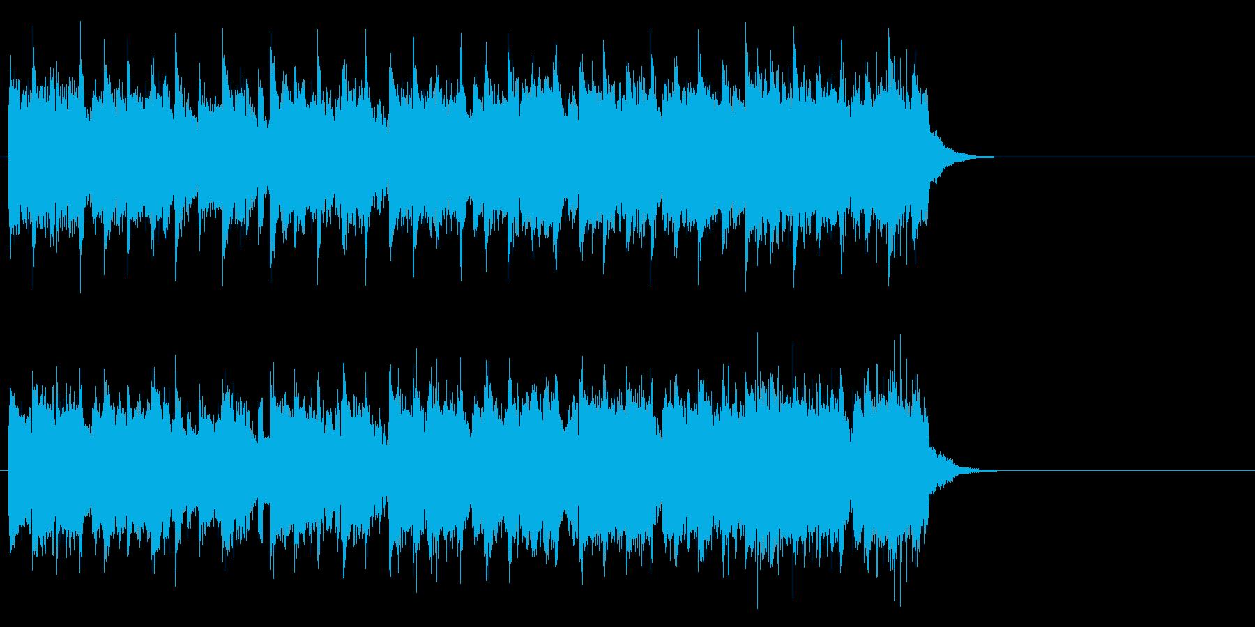 感動的で軽やかなポップ(Aメロ)の再生済みの波形