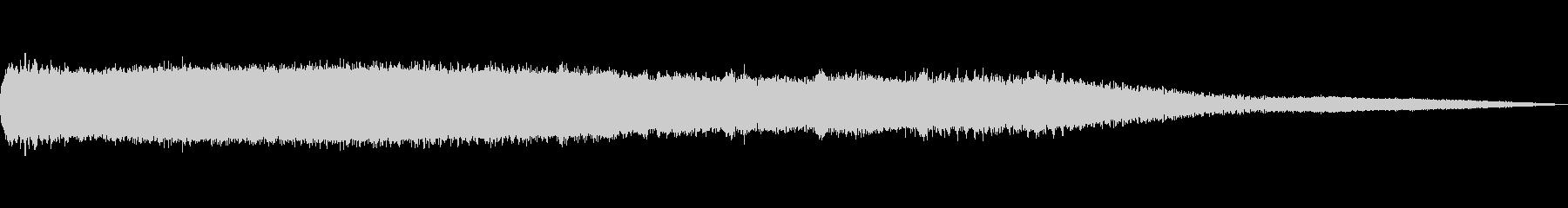 ミンミンゼミの未再生の波形
