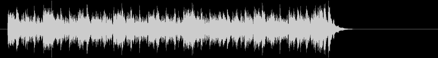 エレクトリックポップス(サビ)の未再生の波形