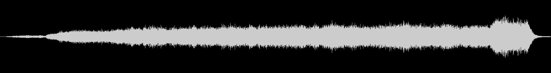 バッハのオルガン曲を幻想的な効果音を入…の未再生の波形