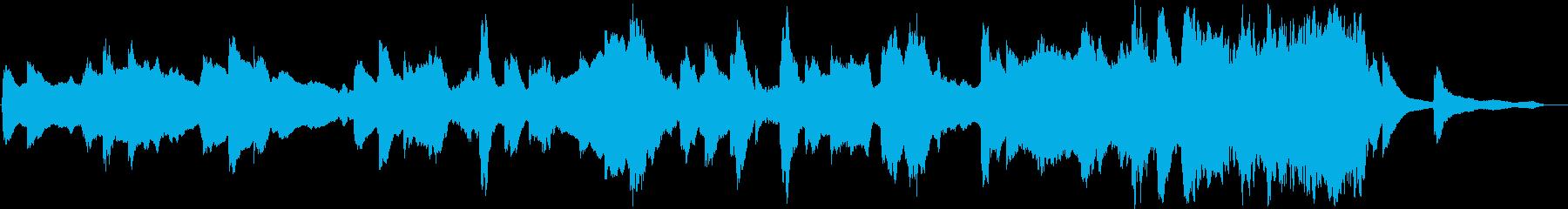 これは、クジラの音を使用して作成さ...の再生済みの波形