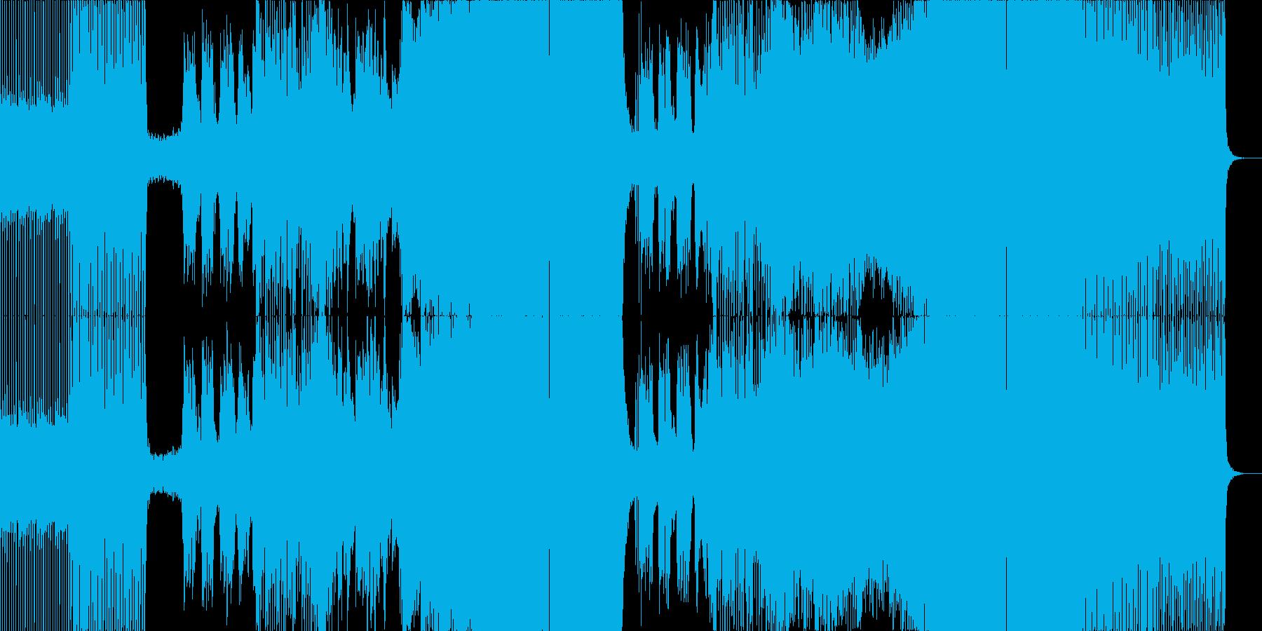 海外フェス系 ノリのいい定番EDM の再生済みの波形