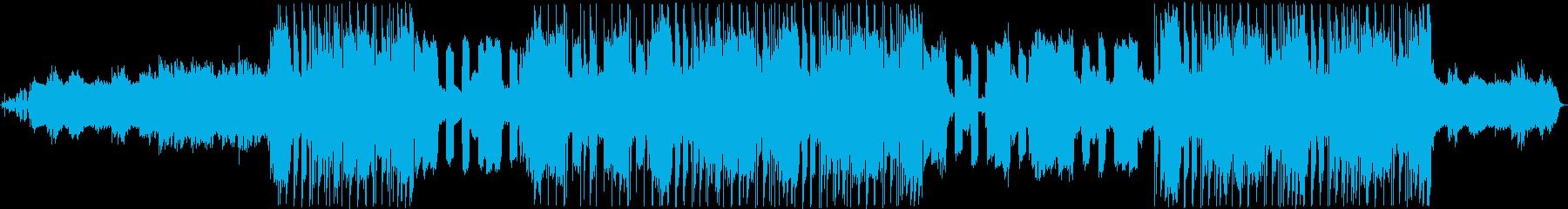 チルアウトでおしゃれなR&B系BGMの再生済みの波形