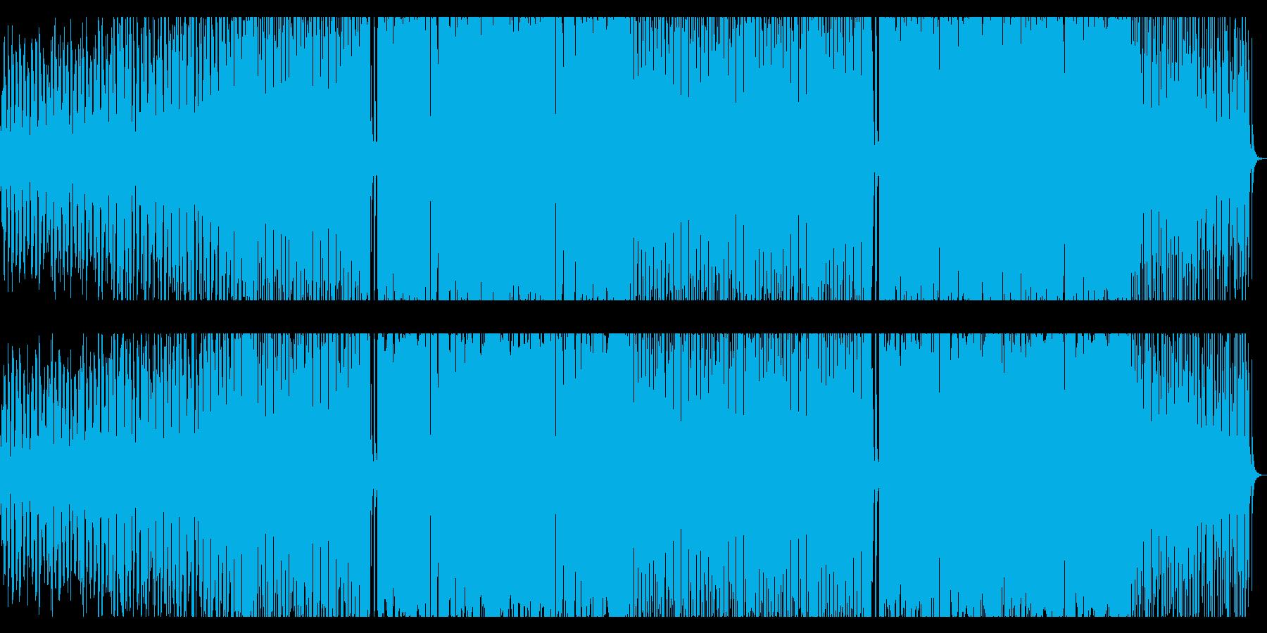 星/エレクトロハウス_No377の再生済みの波形