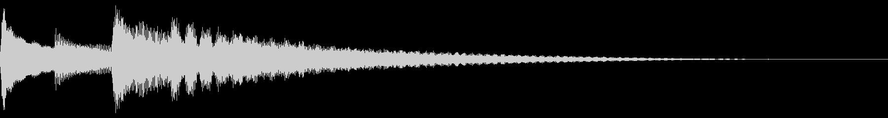アンニュイ アルペジオ ナイロンギターの未再生の波形