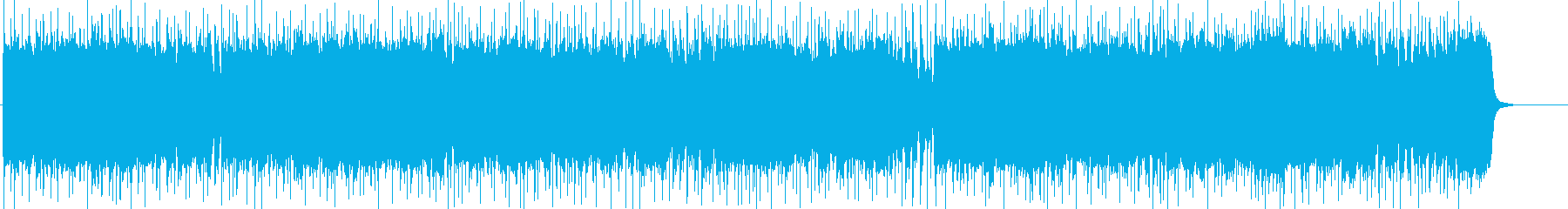 疾走感溢れるエキサイティングロックの再生済みの波形