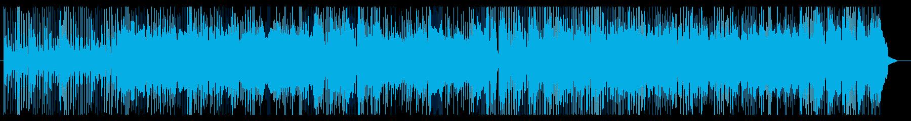 疾走感ある三味線ロックの再生済みの波形