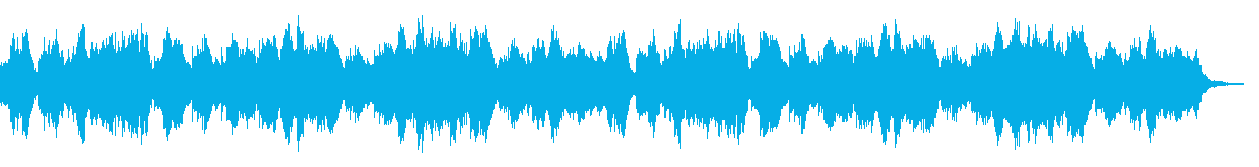 銀河鉄道の再生済みの波形