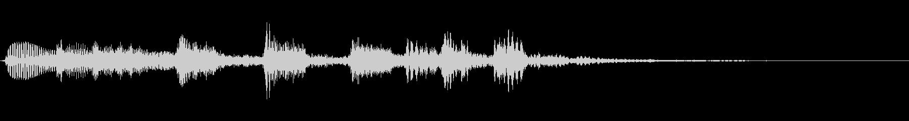 オシャレなジャズ アコギ  ジングル2の未再生の波形