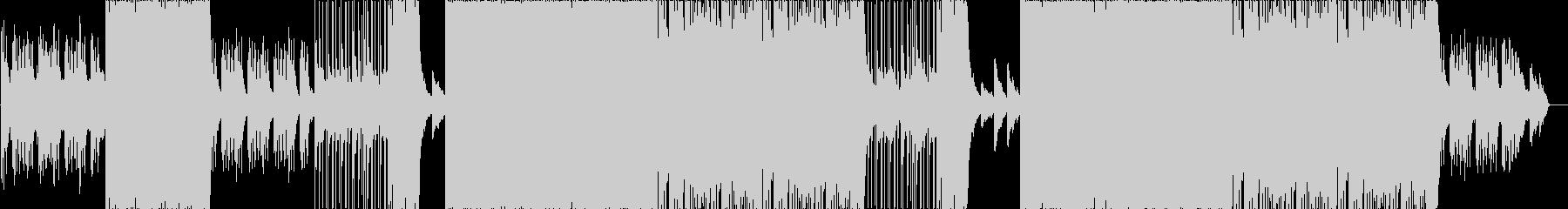 激しいメタルコアピアノバラードの未再生の波形