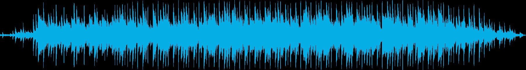 夏の涼しさのある可愛いエレクトロニカの再生済みの波形