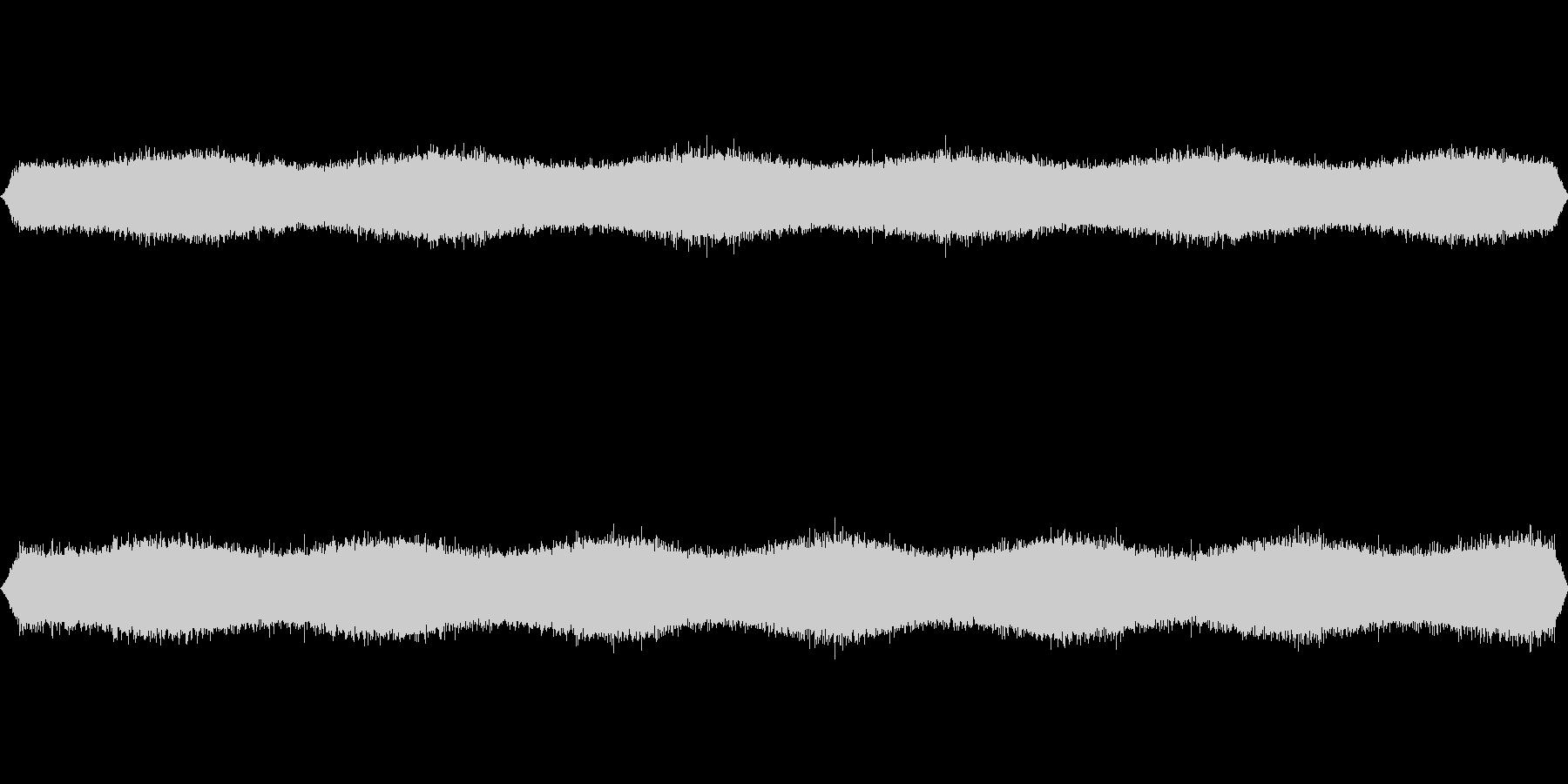 [ザー] 雨・滝・川などの音の未再生の波形