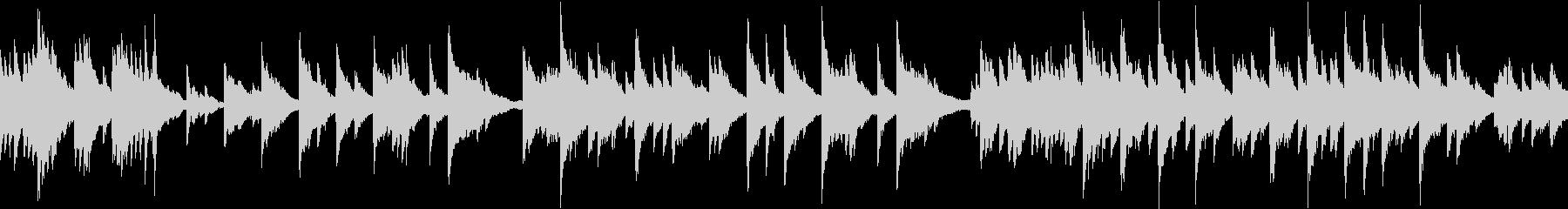 ヒーリング/ピアノ/ループの未再生の波形