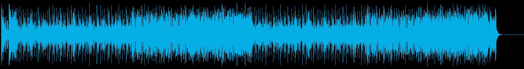 ときめくブライトなポップ・アンサンブルの再生済みの波形