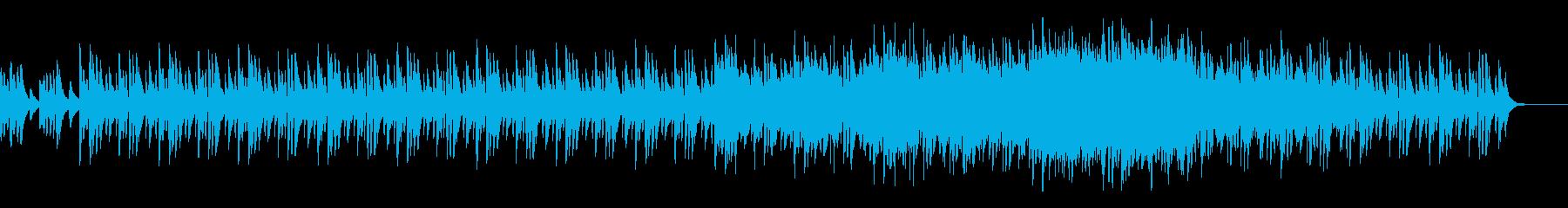 ほのぼの穏やかな雰囲気の癒し系BGMの再生済みの波形