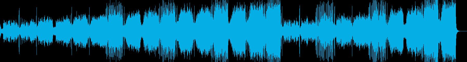 【宇宙・SF系】CGや近未来的な映像美の再生済みの波形