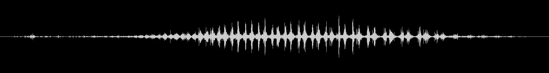 シェーカー ウッドラトルダイナミック06の未再生の波形