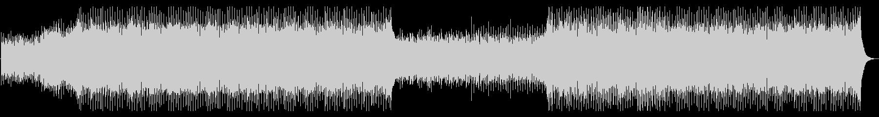 コーポレートミュージック2の未再生の波形