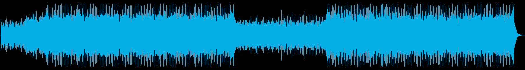コーポレートミュージック2の再生済みの波形