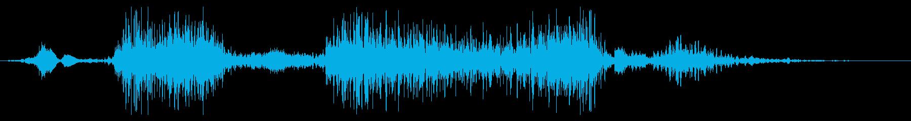 フライング ドラゴン モンスター 敗北時の再生済みの波形