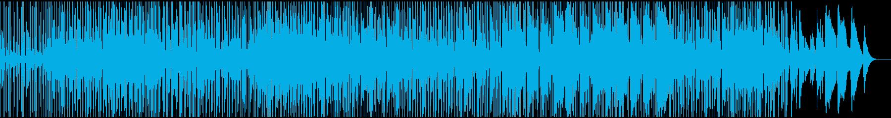 鍵盤楽器満載のLo-Fiヒップホップの再生済みの波形