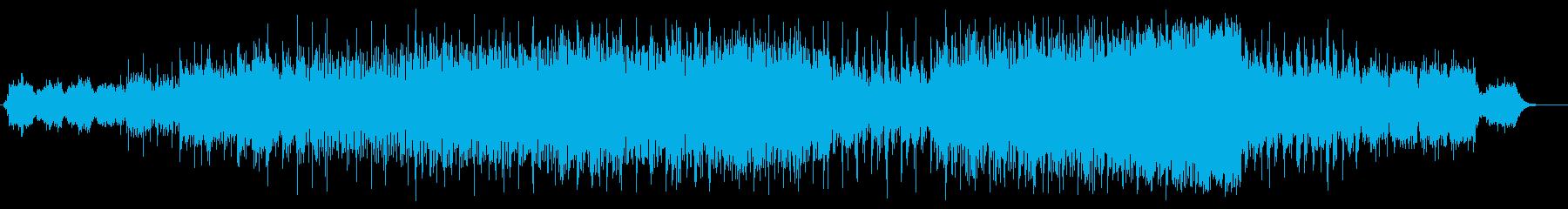 スケール感のあるエレクトリック・サウンドの再生済みの波形