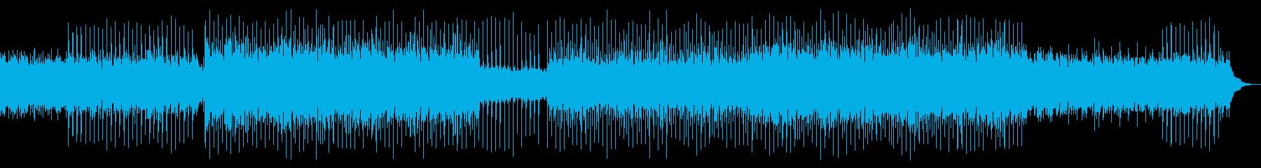 企業系/アート系/ピアノ/四つ打ちの再生済みの波形