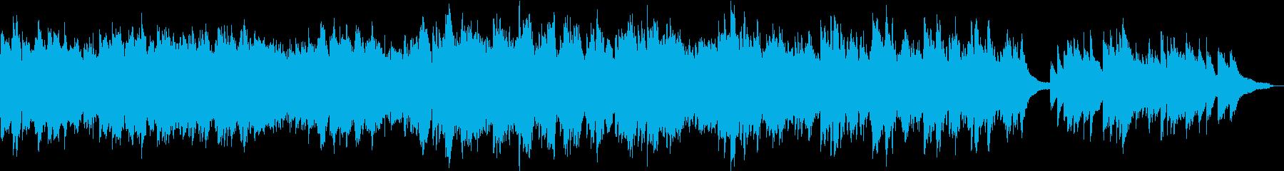 ピアノ・ストリングス/癒しおやすみBGMの再生済みの波形