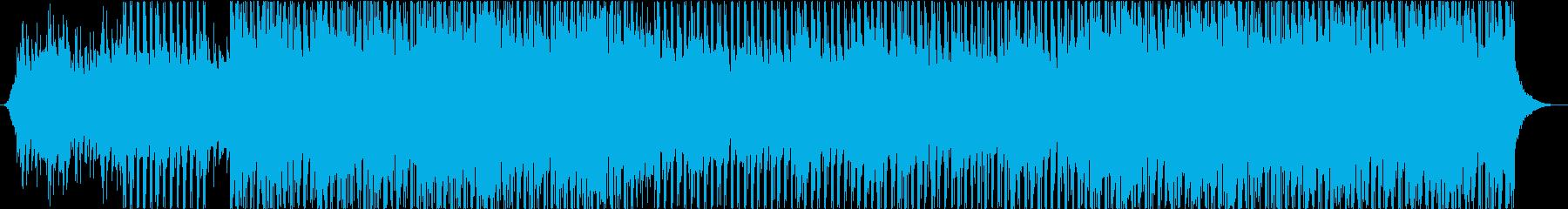 ポップハウストラックの再生済みの波形