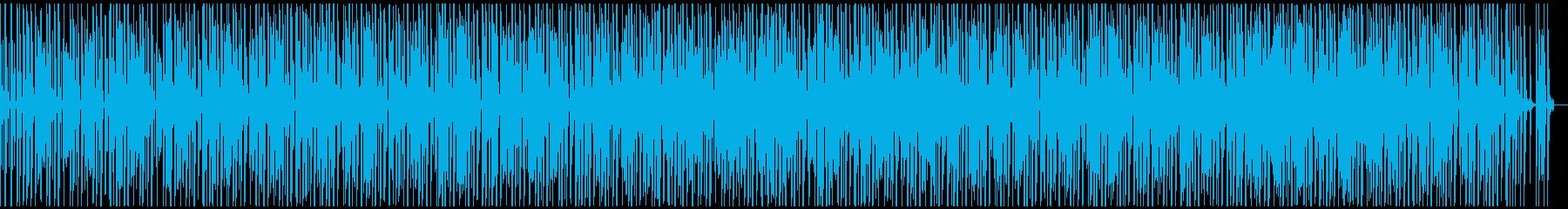 Lo-Fiビート_ファンキー&ジャジーの再生済みの波形