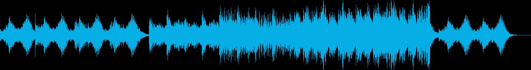ピアノ、弦楽器、の再生済みの波形