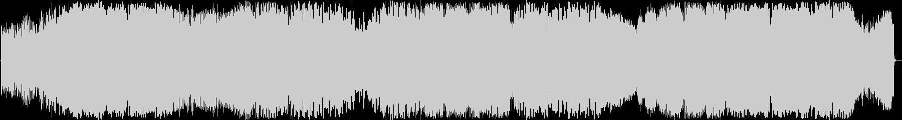 サイキックなポップグリッチエレクトロの未再生の波形