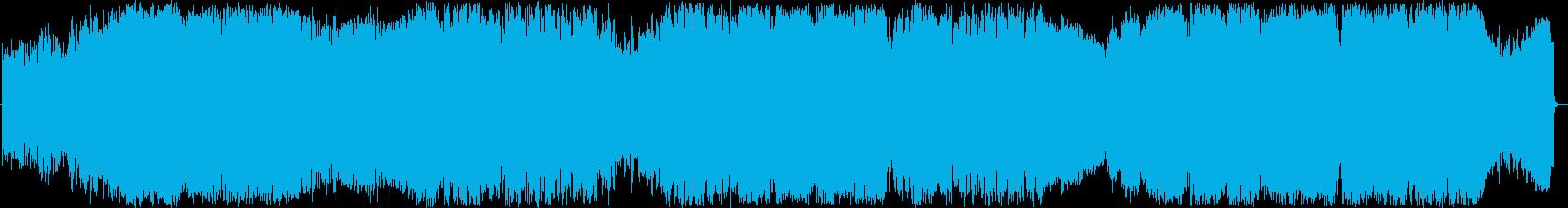 サイキックなポップグリッチエレクトロの再生済みの波形