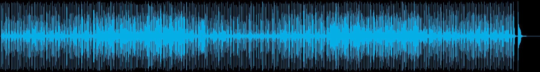 お日様ぽかぽかトランペットジャズの再生済みの波形