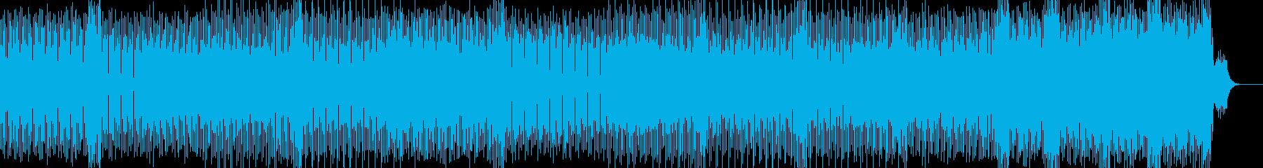 キラキラサウンドの爽やかなダンスポップの再生済みの波形