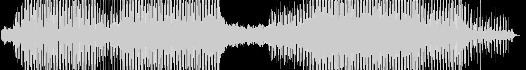 美しいピアノのメロディーと堅実で高...の未再生の波形