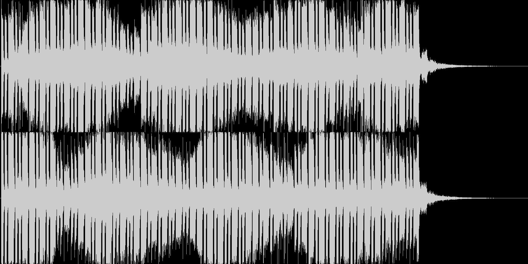 怪しげな焦りの未再生の波形