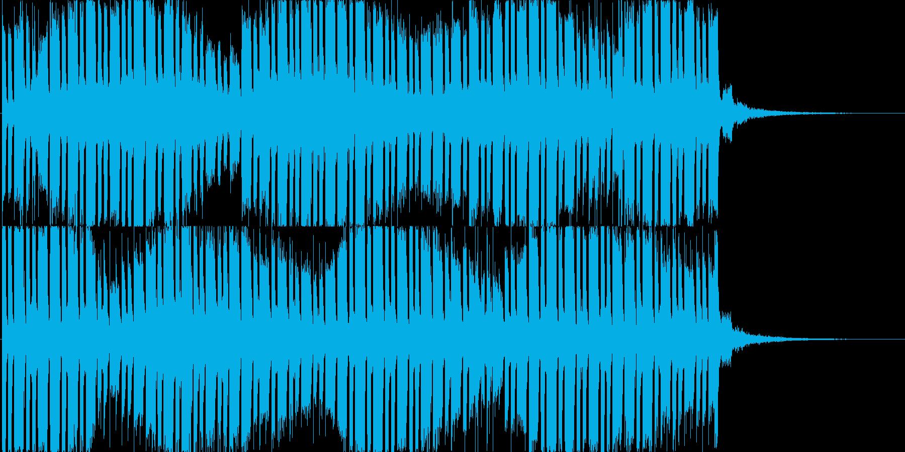 怪しげな焦りの再生済みの波形