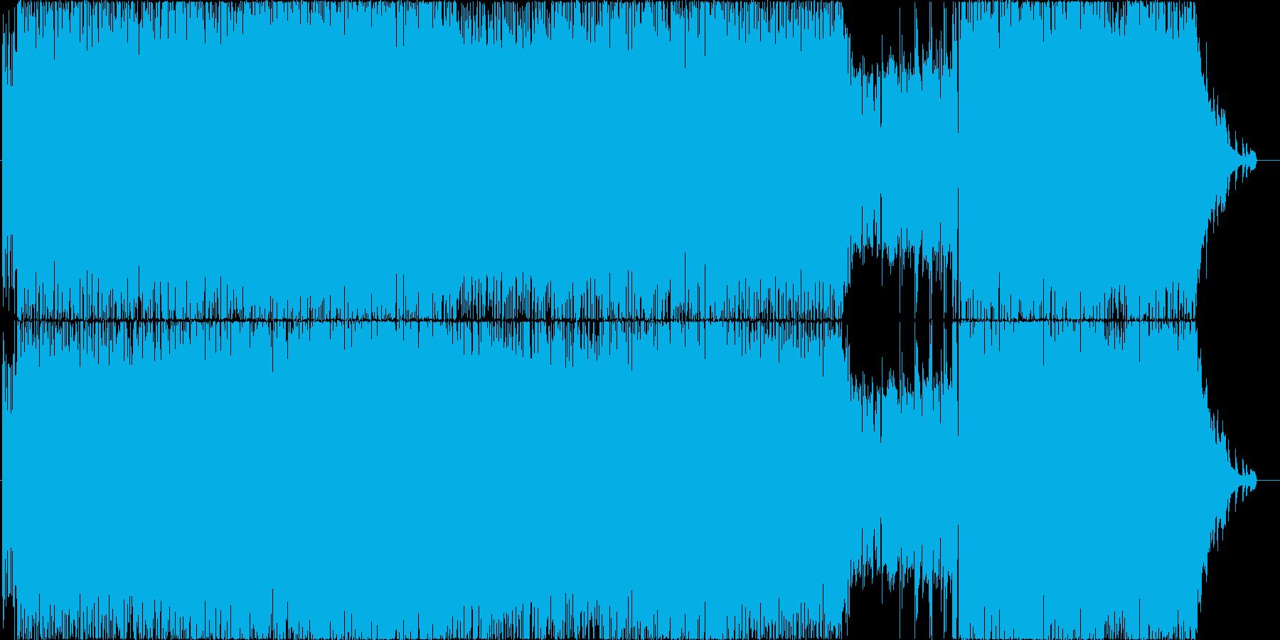 男性Vo.エモいギターロックの再生済みの波形