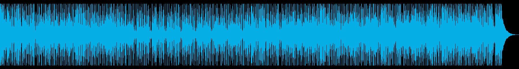生音・インド・中央アジア風民族音楽の再生済みの波形